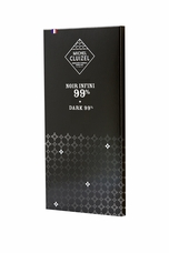 "Michel Cluizel French Chocolate - 99%  ""Noir Infini"" Dark Chocolate, 70g/2.46oz.  (20 Pack)"