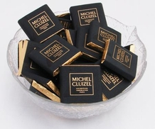 "Michel Cluizel French Chocolate - ""Chocolat Noir Infini"" 99% Cocoa Dark Chocolate, 5gr. ea. (Single)."