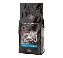 "Michel Cluizel French Chocolate - Couverture Chips 1st Cru Hacienda ""Vila Gracinda - Sao Tome"", Dark Chocolate 67% Cocoa, 3kg/6.6Lb.Bag (Single)."