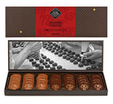 "Michel Cluizel French Chocolate - Les Nuancier ""The High Cocoa Contents"", 70 Pallets, 240g/8.5oz."
