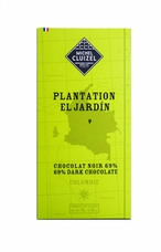 "Michel Cluizel French Chocolate - ""Plantation El Jardín"" 69% Dark Chocolate 70g/2.46oz (Pack of 20)"