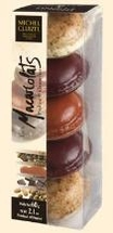 "Michel Cluizel - ""The Macarolats Praline & Ganache"", 5 Piece, 60g/2.1oz."