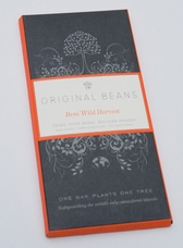 Original Beans Beni Wild Harvest - Bolivia - 66% Darkc Chocolate - 2.46 oz. (13 Pack)