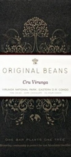 Original Beans Cru Virunga - D.R. Congo - 70% Dark Chocolate - 2.46 oz. (13 Pack)