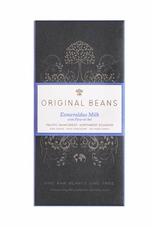 Original Beans Esmeralda Milk - Ecuador - 42% Organic Chocolate - 2.46 oz. (6 Pack)