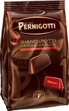 Pernigotti Gianduiotti  Fondente, Dark Hazelnut Chocolates, 150g / 5.29oz (Single)