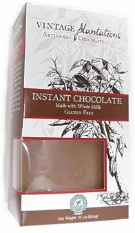 Platations - Hot Chocolate mix, with Ecuadorian Arriba 45% Cocoa, 454g/16.00z. (Single)