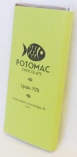 Potomac Chocolate Upala 70% Dark Chocolate, 57g / 2oz (Single)