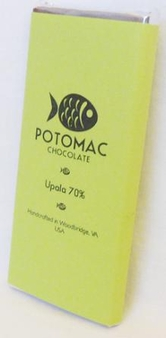 Potomac Chocolate Upala 70% Dark Chocolate, 57g / 2oz (5 Pack)