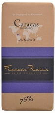 "Pralus French Chocolate - ""Caracas - Pure Origin"" Dark Chocolate, 75% Cocoa, 100g/3.5oz. (5 Pack)"