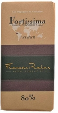 "Pralus French Chocolate - ""Fortissima - Mixed Origin"" Dark Chocolate, 80% Cocoa, 100g/3.5oz. (5 Pack)"