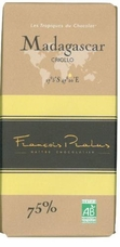 "Pralus French Chocolate - ""Madagascar - Pure Origin"" Dark Chocolate, 75% Cocoa, 100g/3.5oz. (Single)"