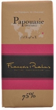 "Pralus French Chocolate - ""Papouasie - Pure Origin"" Dark Chocolate, 75% Cocoa, 100g/3.5oz (5 Pack)."