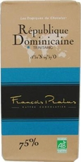 "Pralus ""Republique Dominicaine"", Trinitario - Single Origin, French Dark Chocolate, 75% Cocoa, 100g/3.5oz. (Single)"