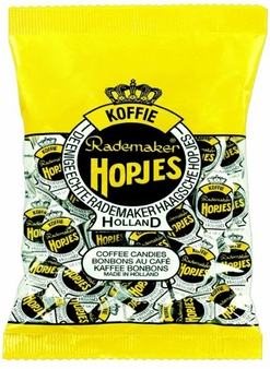 Rademaker- Hopjes Coffee Candies, 7.05oz/200g (Single)