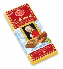 Reber Mozart Classic Milk Chocolate Bar, 100g/3.5oz. (5 Pack)
