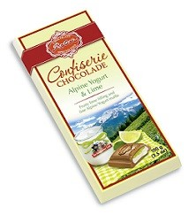 Reber Specialties Chocolade Alpine Yogurt and Lime (Single)