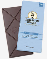 "Scharffen Berger Gourmet Chocolate - ""Bittersweet Dark Chocolate Bar"" 70% Cocoa, 85g/3.0oz  (6 Pack)"