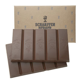 Scharffen Berger Gourmet Chocolate - Semisweet Chocolate Couverture Block, 62% Cocoa, 3kg/6lb.9oz.(Single)