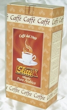 Slitti Italian Coffee - 100% Arabica Coffee Vacuum Packed, 8.8oz./250g.(Single)