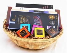 "Small ""French Chocolate Gift Basket"""