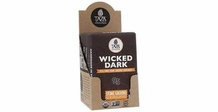 Taza Wicked Dark 95% Dark Chocolate Stone Ground Chocolate, Organic,70g/2.5oz (10 Pack)