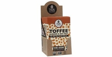 TAZA TOFFEE SEA SALT & ALMOND 60% COCOA 2.5OZ (Pack of 10)
