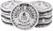 Taza Vanilla 50% Dark Chocolate Mexicano, Organic, 77g/2.7oz (6 Pack)