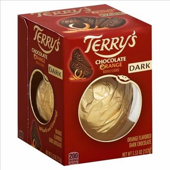 Terry's Dark Chocolate Orange, 5.53oz (6 Pack)