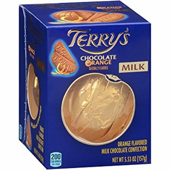 Terry's Milk Chocolate Orange, 5.53oz (Single)
