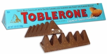Toblerone with Salted Caramelized Almonds, Honey & Nougat 3.52oz/100g (Pack of 10)
