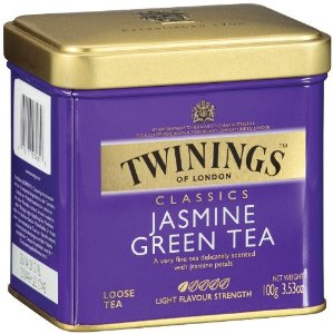 Twinings-Jasmine Green Tea, Loose Tea, 3.53oz/100g (6 Pack)
