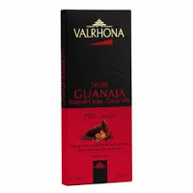 "Valrhona Chocolate - ""Guanaja Grue"", Dark Chocolate with Cocoa Nibs, 70% Cocoa, 85g/2.99oz (5 Pack)"