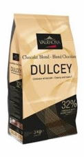 "Valrhona Chocolate - ""Les Feves"" ""Dulcey"" 32% Cocoa, 3kg/6.6 lbs , Repackaged"