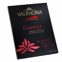 Valrhona French Chocolate - Dark Chocolate Guanaja 70% Cocoa Bar, 70g/2.46oz.
