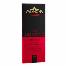 Valrhona French Chocolate - Dark Chocolate Guanaja 70% Cocoa Bar, 70g/2.46oz. (5 Pack)