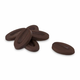 "Valrhona French Chocolate - ""Les Feves"" Equatoriale 55 % Cocoa, 1 Pound. Repackaged"