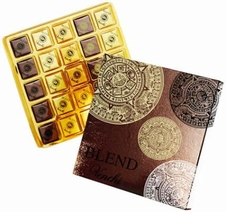 "Venchi Chocolate Gift Box - ""Venchi Blend"" - Extra Dark Chocolate 60%, 75% & 85% - 80g/2.82oz"