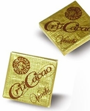 "Venchi Italian Chocolate - ""Cru di Cacao"" 60% Cocoa Mini Squares, 65 Piece Bag. (Single)"