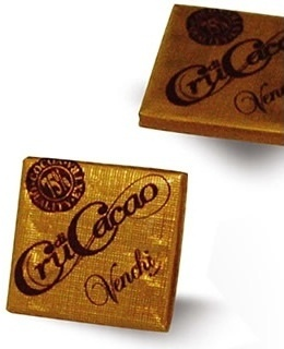 "Venchi Italian Chocolate - ""Cru di Cacao"" 75% Cocoa Mini Squares, 65 Piece Bag (Single)"