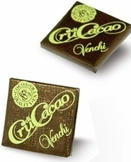 "Venchi Italian Chocolate - ""Cru di Cacao"" 85% Cocoa Mini Squares, 65 Piece Bag (Single)"