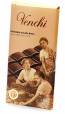 "Venchi Italian Chocolate - ""Latte Superiore"" Milk Chocolate Bar, 31.5 % Cocoa, 100g/3.5oz (Single)."