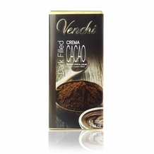 "Venchi Italian Chocolate - Dark Filled ""Crema Cacao"" 75% Cocoa, 110g/3.88oz. (16 Pack)"