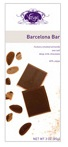 Vosges-Barcelona Bar Hickory Smoked with Almonds Sea Salt deep Milk Chocolate 45% Cacao 3oz/85g (Single)