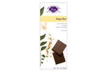 Vosges-Sri Lankan Coconut & Curry Bar Sweet Indian Curry Sri Lankan Coconut Deep Milk Chocolate 45% Cacao 3oz/85g (Single)