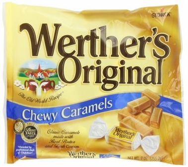 Werthers Original,ChewyCaramels (6 Pack)