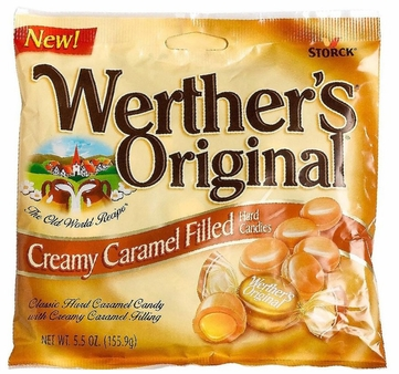 Werthers Original, Creamy Caramel Filled  (6 Pack)