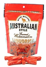 Wiley Wallaby Australian Style Liquorice -  Watermelon, 10oz/284g (Single)