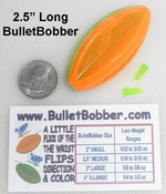 "Medium 2.5""  BulletBobbers"
