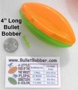 "X-Large 4""  BulletBobbers"